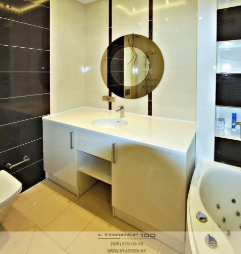 Мебель для ванной Bright White. Фото