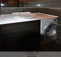Мебель для ванной Нью-Йорк глянец. Фото