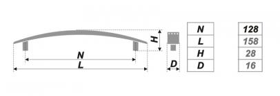 Схема ручки RS002SC.4/128