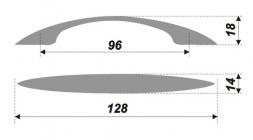 Схема ручки RS023CP.4/96