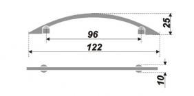 Схема ручки RS004GP.3/96