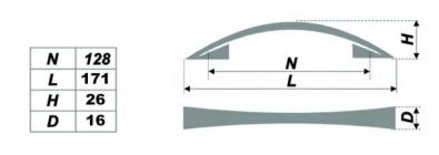 Схема ручки RS005.4/96