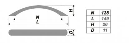 Схема ручки RS008CP.3/128
