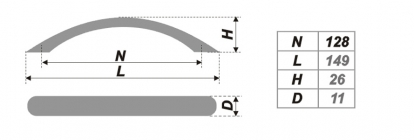 Схема ручки RS008SG.3/128