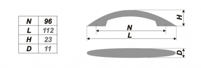 Схема ручки RS011SN.3/96