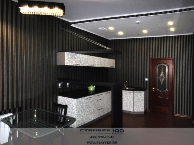 Красивая, стильная кухня Флоренция фото.