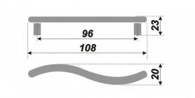 Схема ручки RS013SC.4/96