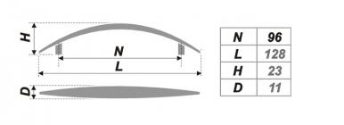 Схема ручки RS014SC.4/96