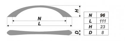 Схема ручки RS028SN.3/96