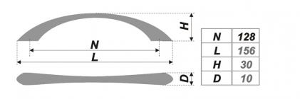 Схема ручки RS028CP.3/128