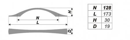Схема ручки RS034SC.4/128