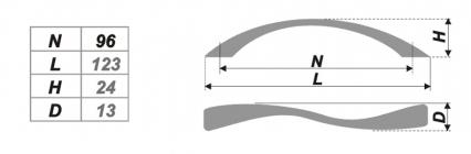 Схема ручки RS032SN.3/96