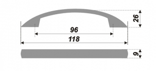 Схема ручки RS039ASN.4/96