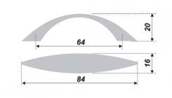 Схема ручки RS153GP.3/64