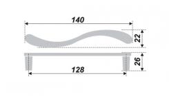 Схема ручки RS154CP.4/128