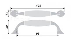 Схема ручки RS168SC/ChT.4/96