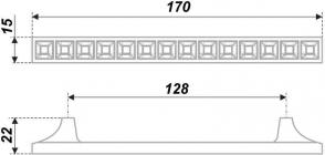 Схема ручки RS420CP/CrBl.4/128