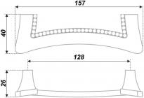 Схема ручки RS423CP/CrT.4/128