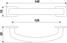Схема ручки RS424BAB.5/128