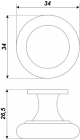 Схема ручки RC414BAP.5