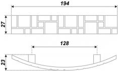 Схема ручки RS425BAP.5/128