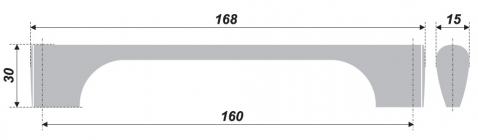 Схема ручки RS045BSN.1/160