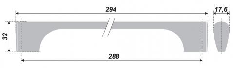 Схема ручки RS046BSN.1/288