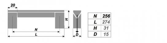 Схема ручки RS051AL.16/256