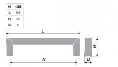 Схема ручки RS052CP.4/128