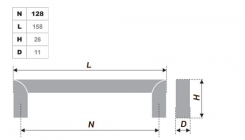 Схема ручки RS052SC.4/128