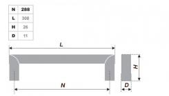 Схема ручки RS052CP.4/288