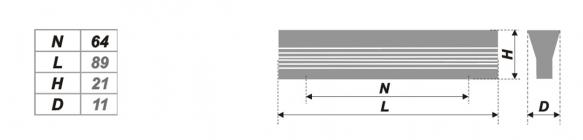 Схема ручки RS057AL.4/64