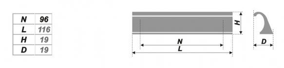 Схема ручки RS059AL.4/96