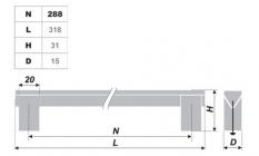 Схема ручки RS060AL.16/288