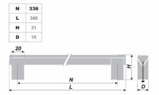 Схема ручки RS060AL.16/336