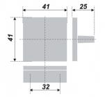 Схема ручки RS074SC.4/32
