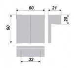 Схема ручки RS078CP.5/32