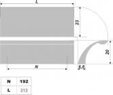 Схема ручки RS170AL.4/192