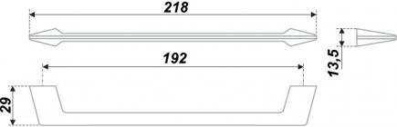 Схема ручки RS180CP.4/192