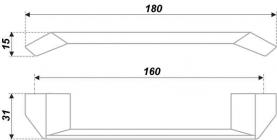 Схема ручки RS182CP.4/160