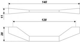 Схема ручки RS186CP.4/128