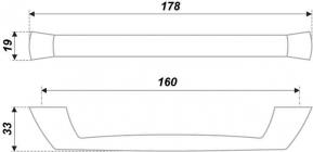 Схема ручки RS188CP.4/160
