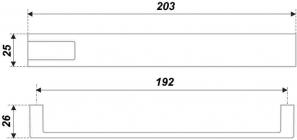 Схема ручки RS189BSN/CP.4/192