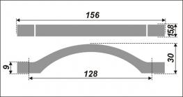 Схема ручки RS202BSN.4/128