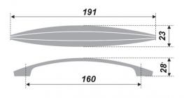 Схема ручки RS211BSN.4/160