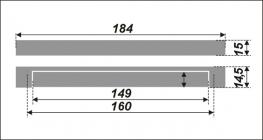 Схема ручки RS222CP.4/160