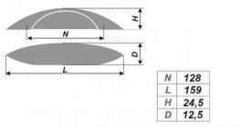 Схема ручки RS245BSN.4/128