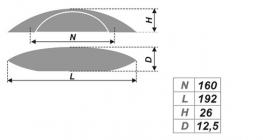 Схема ручки RS245BSN.4/160