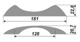 Схема ручки RS246CP.3/128