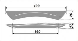 Схема ручки RS253CP.4/160